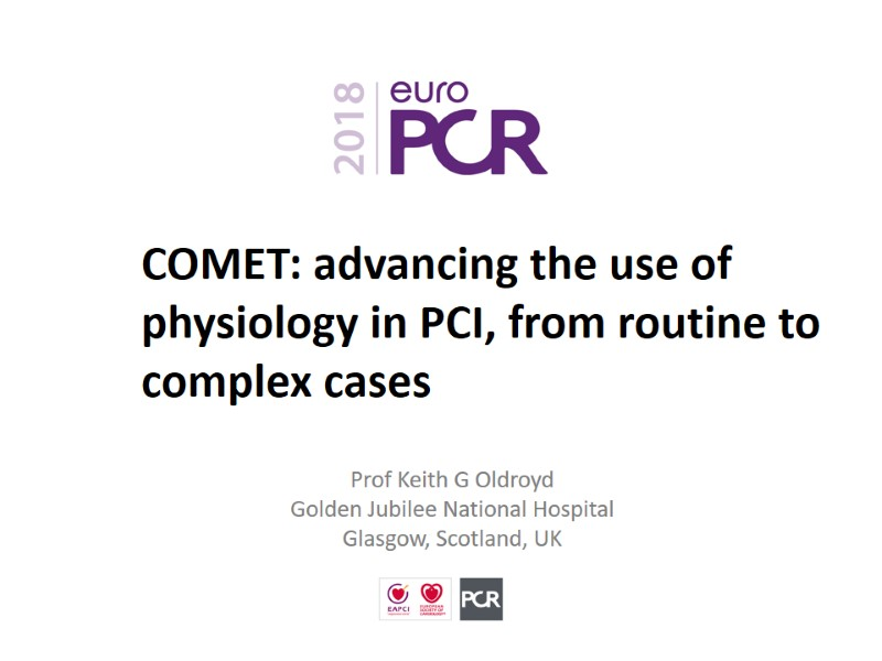 COMET: advancing the use of physiology in PCI, from routine