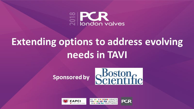 Extending options to address evolving needs in TAVI